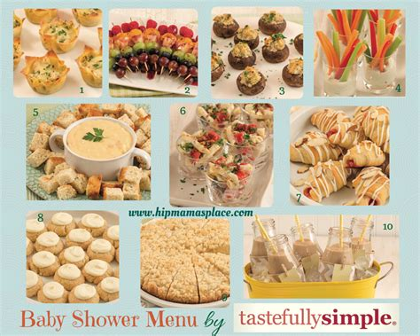 Easy Baby Shower Menu by Baby Shower Planning Tips Recipes And Giveaways From