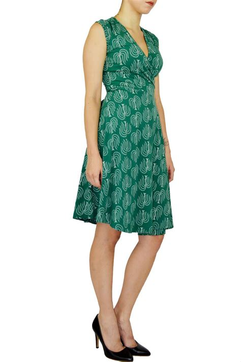 Printed Front Wrap Dress effie s printed wrap dress from by n 233 da