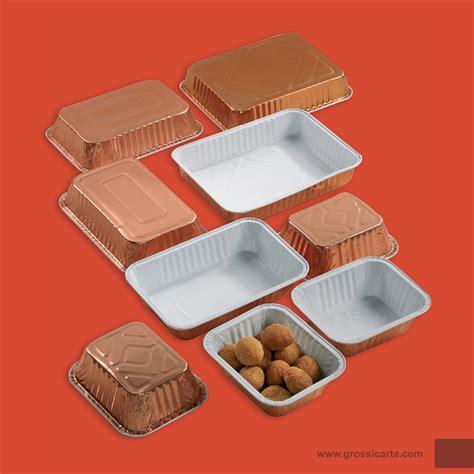 vaschette alluminio per alimenti vaschette alluminio bilaccate fornitura packaging linea