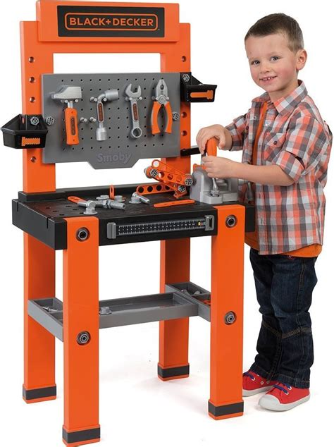 kids black and decker work bench smoby black and decker bricolo one childrens toy workbench