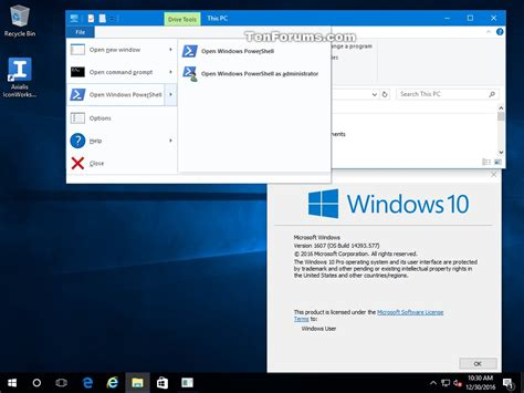 windows 10 powershell tutorial open windows powershell in windows 10 page 2 windows