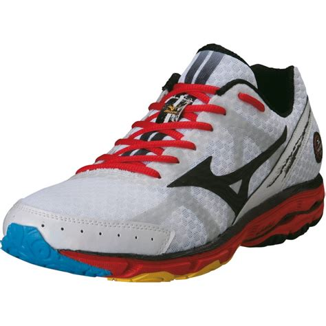 mizuno running shoes wave rider 17 mizuno wave rider 17 cushioning running shoes white at