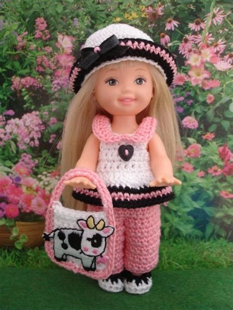 big dolls house handmade crochet kelly doll clothes by sweet lil things on ebay kelly doll patterns