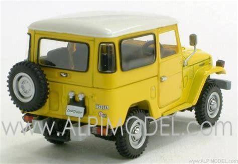 Ebbro Land Cruiser 1 ebbro toyota land cruiser fj40v yellow 1 43 scale model