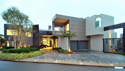 Modernday Houses Dazzling Modern Day South African House Charms With