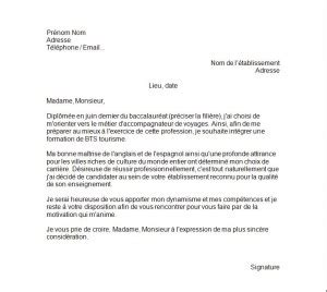 Lettre De Motivation Candidature Spontanée Qualité application letter sle exemple de lettre de motivation