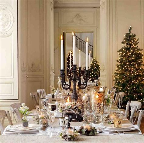 Elegant Decor | 10 breathtaking christmas tablescape ideas artisan