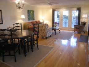 staging living room dining room combo rave home staging