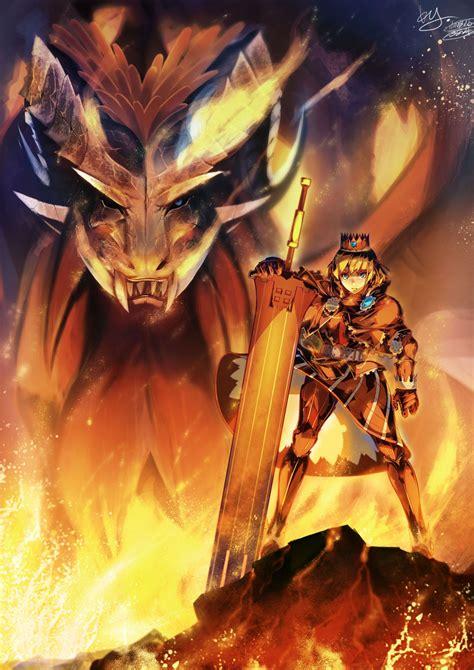 teostra monster hunter series zerochan anime image board