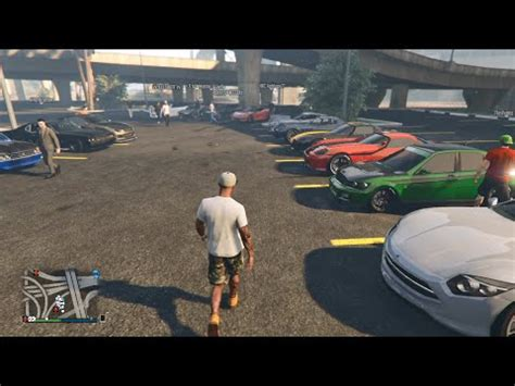 Auto Tuning Xbox One by Gta 5 Online Xbox One Street Car Meet Banshee