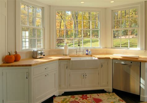 No Window Above Kitchen Sink Best 10 Ideas Of Kitchen Bay Window Over Sink To Beautify