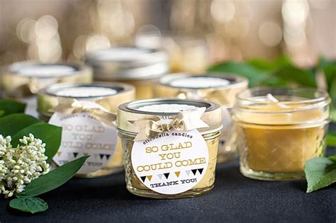 Candle Giveaways - beeswax candle wedding favors weddings ideas from evermine