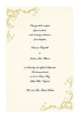 wilton wedding gold sweetheart invitation set 50 count the world s catalog of ideas