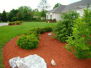 A Yard Of Gravel Red Colored Mulch Indianapolis Mulch Mccarty Mulch