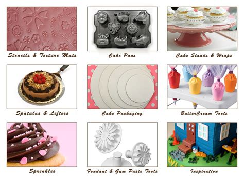 Cake Decorating Supplies by Cake Cupboard A Dash Of Inspiration For Cake