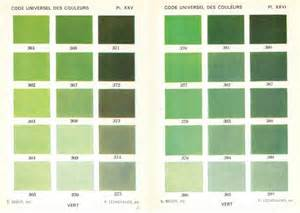 green color chart green paint color chart