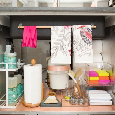 under kitchen sink storage ideas 25 best ideas about bathroom sink organization on