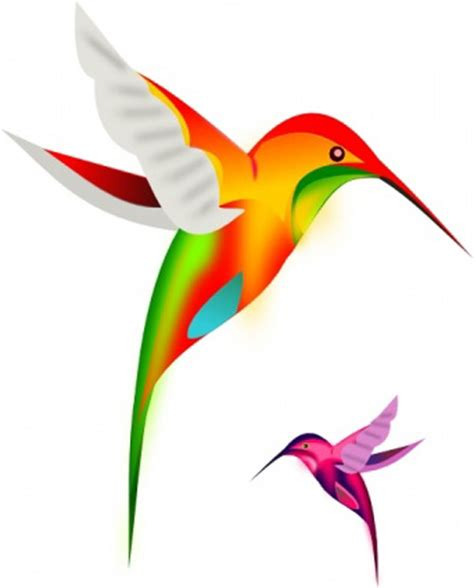 Colorful Bird Clipart colorful humming bird clip free vector birds design for free clipart best clipart best