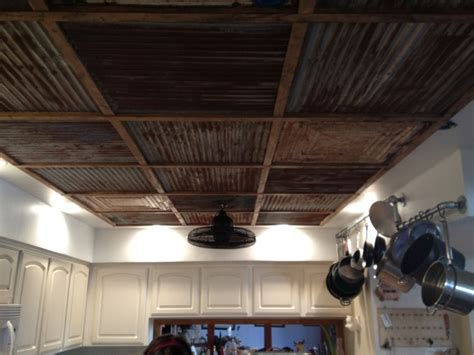 Corrugated Tin Ceiling by Corrugated Metal Ceiling Mobilehomerepair