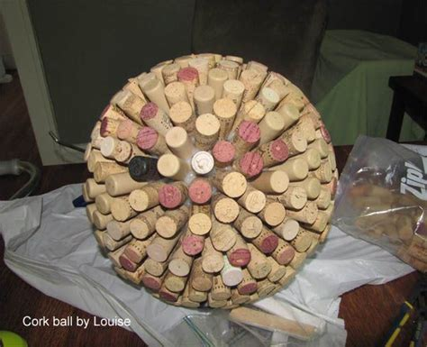 decorative cork balls 716 best repurposed bowling balls images on pinterest