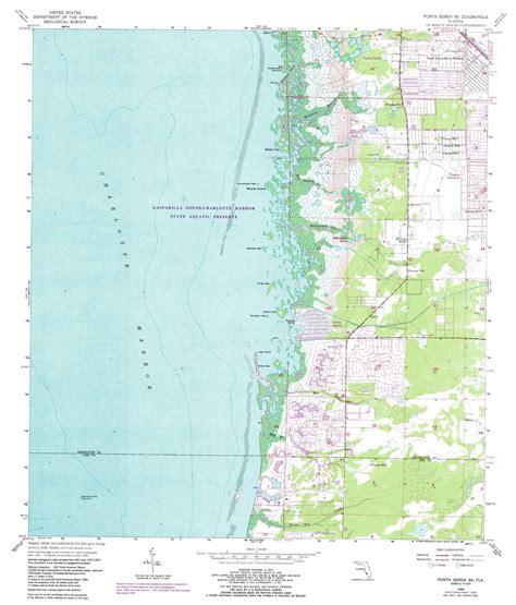punta gorda florida map punta gorda se topographic map fl usgs topo 26082g1