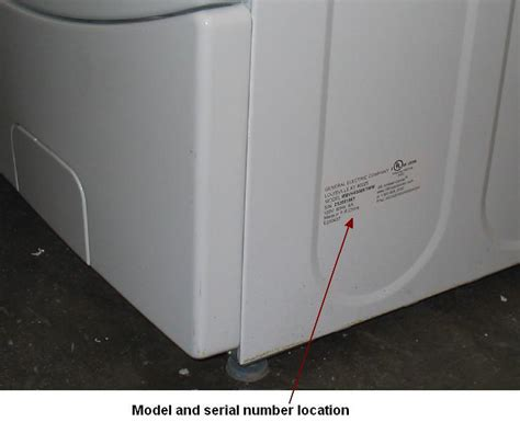 Find Ge Front Load Washer Service Manual By Model Number