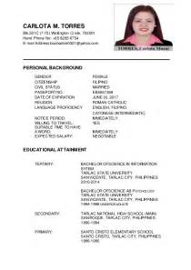carlota m torres updated resume