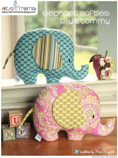 sewing pattern elephant baby toy tutorial elephant sewing pattern soft toy tilly