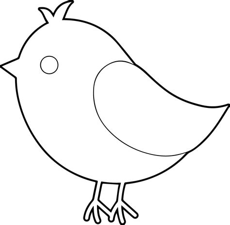 bird coloring page baby birds pages coloring pages