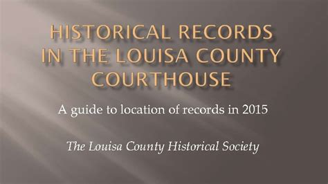 Louisa County Court Records Piedmont Virginia Digital History The Land Between The Rivers Guide To Louisa