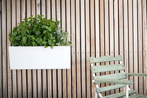 self watering wall planters glowpear mini wall self watering planter gadgetsin