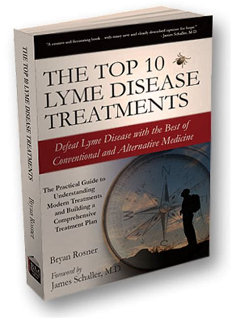 lyme disease takes on medicine books the top 10 lyme disease treatments by bryan rosner order