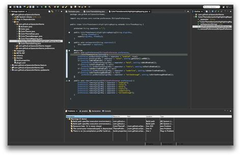 Themes Java | eclipse ide for java full dark theme stack overflow
