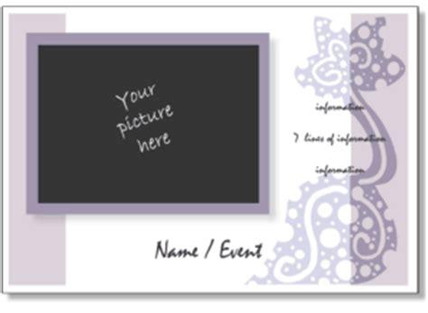 cute invitation templates  printable photo card templates birth announcements birthday