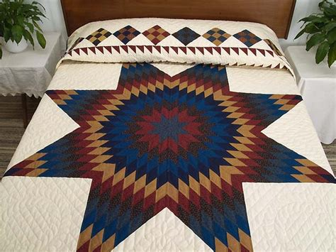 quilt pattern star of bethlehem star of bethlehem quilt gorgeous specially made amish