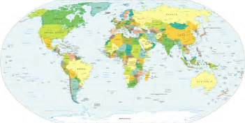Political Map Of World by World Political Map