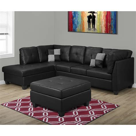 wayfair sectional sofa monarch specialties inc sofa sectional wayfair