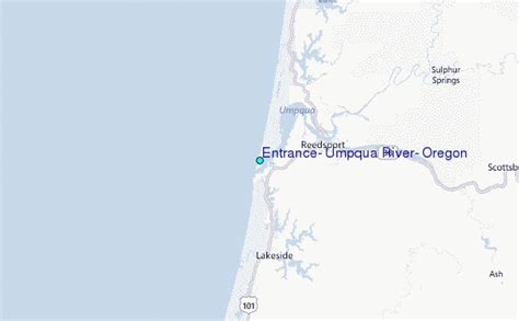 Tide Tables Florence Oregon by Entrance Umpqua River Oregon Tide Station Location Guide