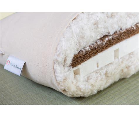 futon bio futon toshima bio 15cm cotone cocco e lattice vivere zen