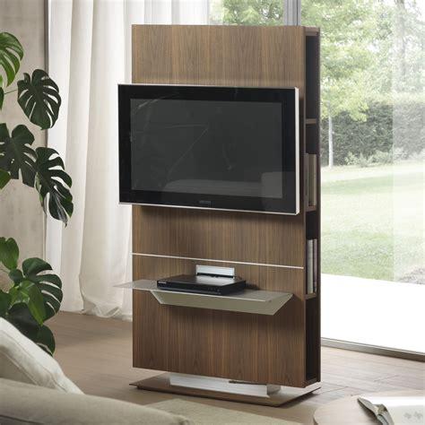 libreria mobile tv porta tv girevole con libreria lounge arredaclick