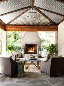 outdoor living room with fireplace cococozy outdoor living room wicker amp brick get the look