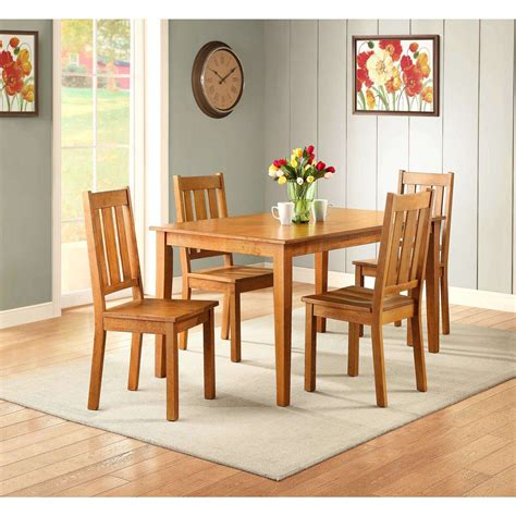 better homes and gardens dining table better homes and gardens bankston 5 piece dining set