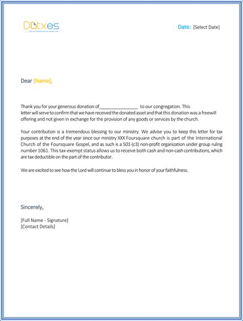 Donation Letter For House Donation Letter Sle Free Thank Best Free Home Design Idea Inspiration