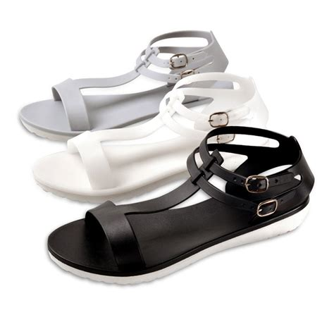 Promo Sandal Wanita Flat Lock 3 pilihan sandal korea sandal wanita 001 elevenia