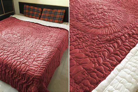 Velvet Patchwork Quilt King - new king cal king size royal 100 cotton velvet quilt