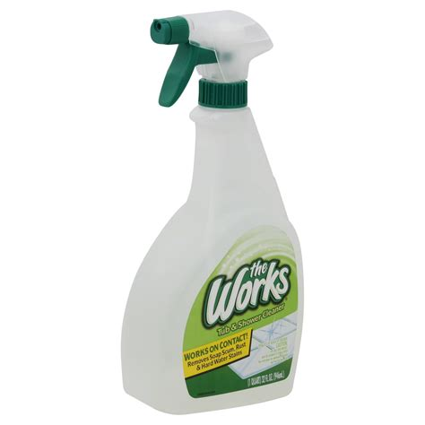 the works tub shower cleaner 32 fl oz 1 qt 946 ml