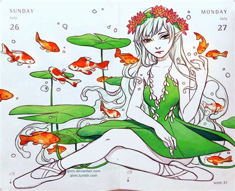 koi pond thediabeticspoon drawing realistic and stylish koi pond ballet by qinni on deviantart