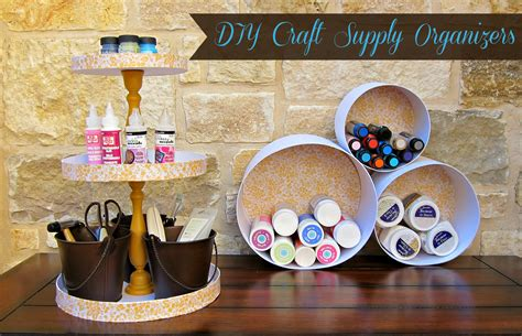 Paper Crafts Supplies - how to organize your craft supplies with paper mache boxes