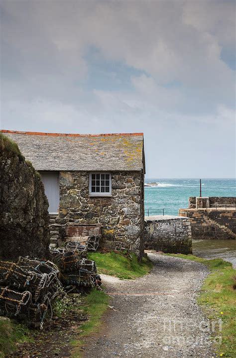 cottage by the sea photograph by david lichtneker