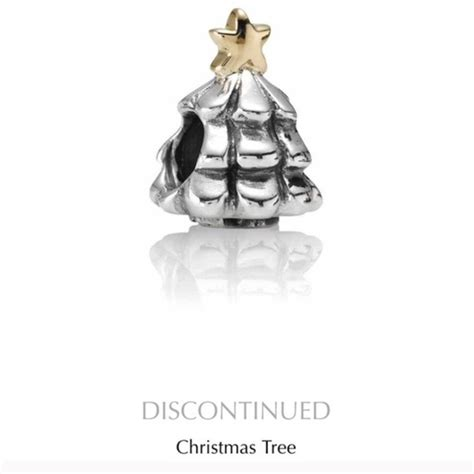 pandora jewelry christmas tree with gold star charm